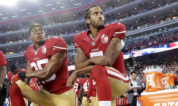Colin Kaepernick and Eric Reid
