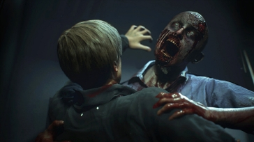 leon zombie attack PCgamesN