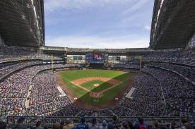 Miller Park with its roof open - PHOTO CREDIT - Tom Lynn, Getty Images