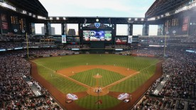 Chase Field with its roof and windows open - PHOTO CREDIT - kgun9