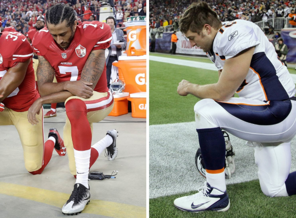 Kaepernick vs. Tebow