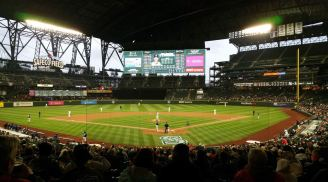 T-Mobile Park with its roof closed - PHOTO CREDIT - Rate Your Seats