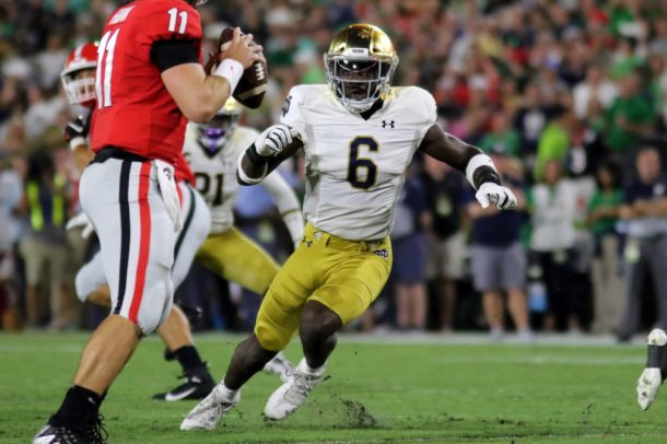 COLLEGE FOOTBALL: SEP 21 Notre Dame at Georgia