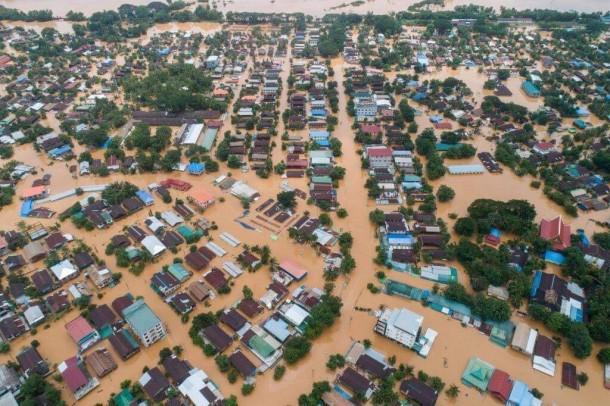 village flood