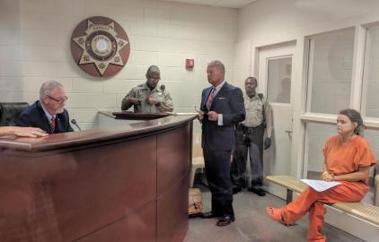 magistrate and omana with attorney